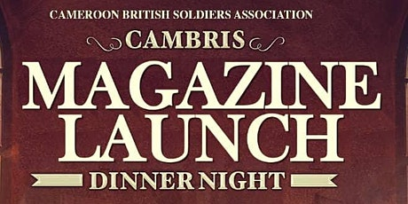 CAMBRIS Magazine launch and Gala tickets