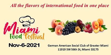 MIAMI FOOD FESTIVAL  2021 tickets