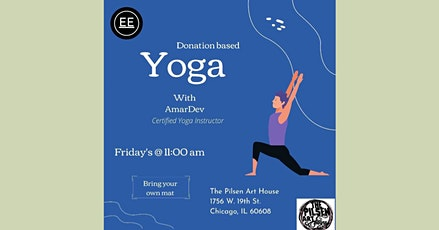 Donation Based Yoga tickets