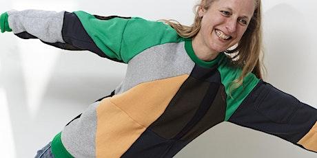 Make your own zero waste sweatshirt tickets