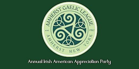 48th Annual Irish American Appreciation Party - Again! tickets
