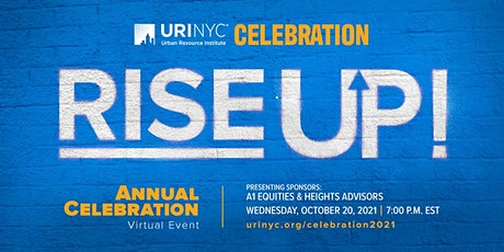 Urban Resource Institute's Annual Celebration: Rise Up! tickets