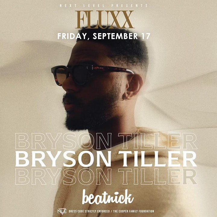 Bryson Tiller at FLUXX image