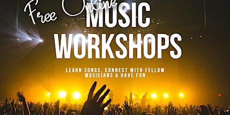 Free Online Kids Band Workshop tickets