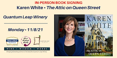 In-Person Book Signing with Karen White, THE ATTIC ON QUEEN STREET tickets