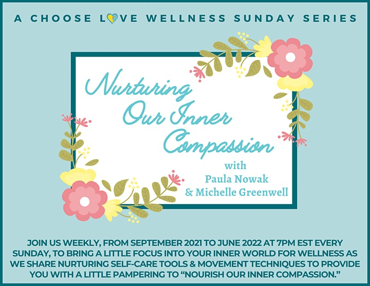 Nurturing Our Inner Compassion - A Wellness Sunday Series image