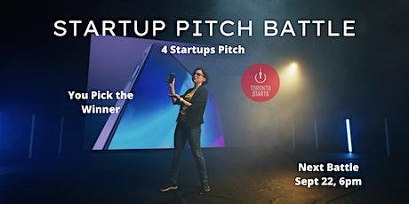 Startup Pitch Battle tickets