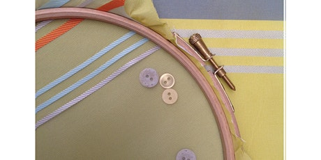 Essential Sewing & Creative Textiles 5  Day Course - Online tickets