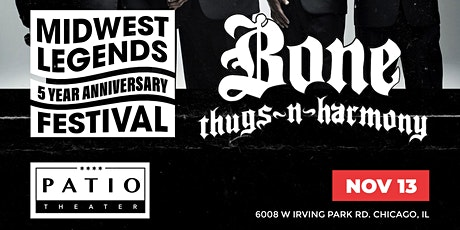 The Midwest Legends 5 Year Anniversary Festival W/ Bone Thugs-N-Harmony tickets