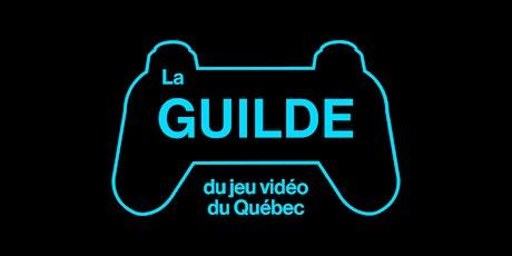 La Guilde du jeu vidéo - Assemblée générale annuelle 2021 billets