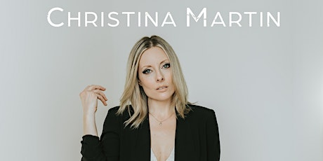 Christina Martin- LIVE at The Tracadie Community Centre November 5th tickets