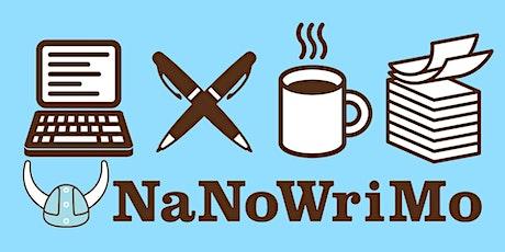 Virtual Preptober for National Novel Writing Month (NaNoWriMo) tickets