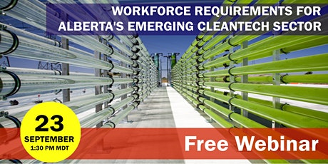 Workforce Requirements for Alberta's Emerging Cleantech Sector tickets