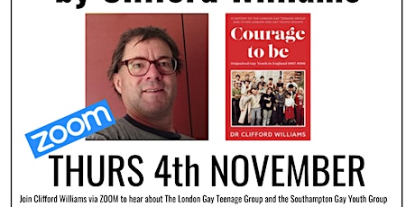 livestream: Courage To Be by Clifford Williams Tickets