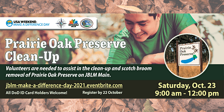 JBLM Make A Difference Day 2021 tickets