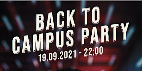 Back to Campus Party - hosted by thinc! x VaPassion x Q-Summit tickets