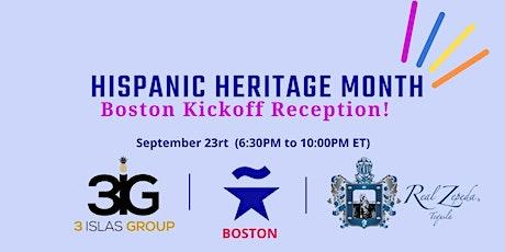 Hispanic Heritage Month Kickoff reception tickets
