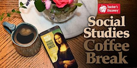 Social Studies Coffee Break tickets