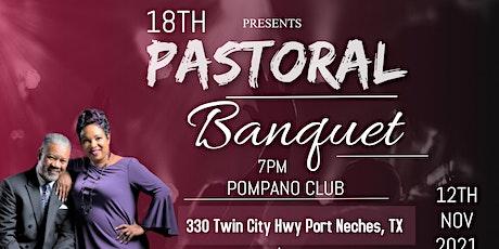 Pastors Albert & Charlotte Moses 18th Pastoral Anniversary Banquet tickets