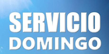2° Servicio Dominical - Domingo 19 de Septiembre entradas