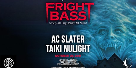 AC Slater @ Noto Philly October 28th Free w/ RSVP tickets