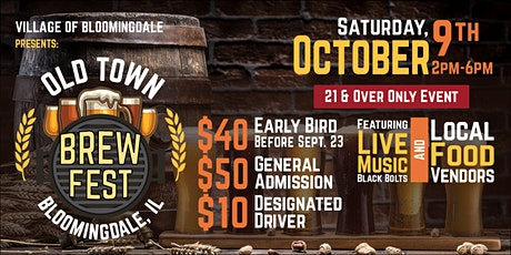 Old Town Brew Fest -  Beer Festival tickets