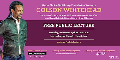 NPL Literary Award Public Lecture tickets