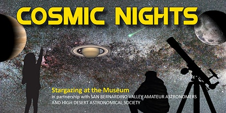 Cosmic Nights  at the Museum tickets