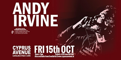 Andy Irvine tickets