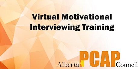 Virtual Motivational Interviewing Training tickets