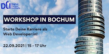 Workshop in Bochum - Starte Deine Karriere als Web Developer:in! Tickets