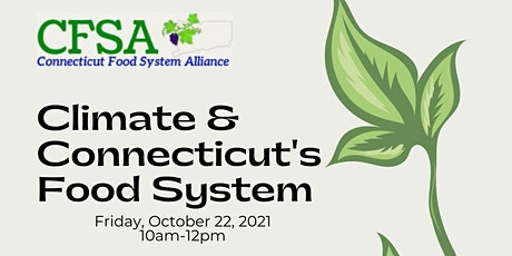 Climate & Connecticut's Food System tickets
