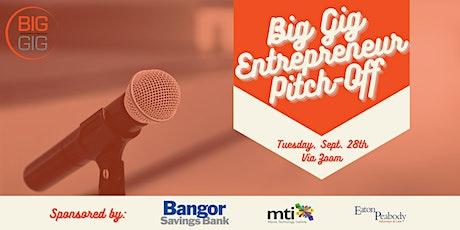Virtual Big Gig Entrepreneur Pitch-Off (September) tickets