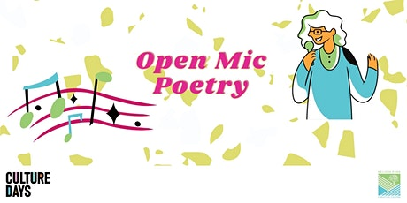 Culture Days: Open Mic Poetry tickets