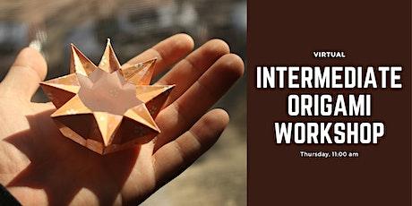 Virtual Intermediate Origami Workshop tickets
