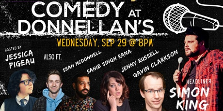 Comedy Night at Donnellan's tickets