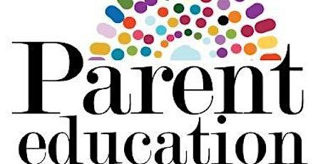Parent Education Night tickets