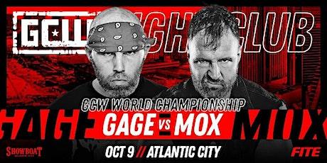 GCW Presents Fight Club: MOX vs GAGE tickets