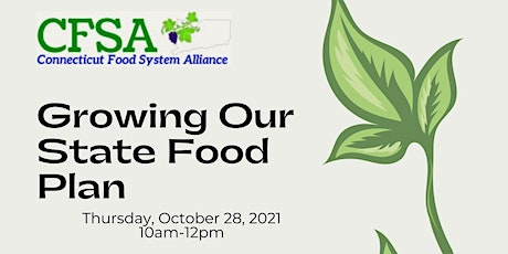 Growing Our State Food Plan tickets