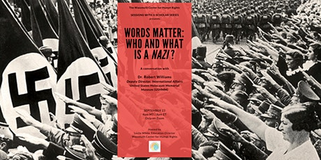Words Matter: Who and What is a 'Nazi'? with Dr. Robert Williams tickets