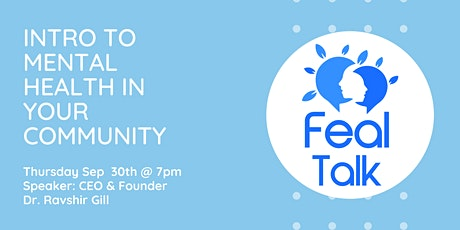 Intro to Mental Health in your community tickets