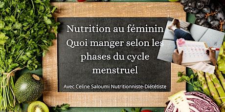 Nutrition au féminin: quoi manger selon les phases de ton cycle menstruel billets
