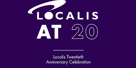 Localis at 20 - a celebration tickets