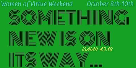 WOV Something New Weekend tickets