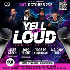 YELL OUT LOUD COMEDY SHOW tickets