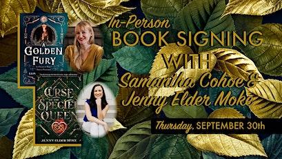 Book Signing with Samantha Cohoe & Jenny Elder Moke tickets