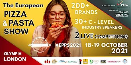 The European Pizza & Pasta Show 2021 tickets