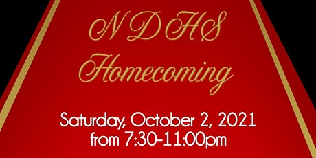NDHS Homecoming 2021 tickets