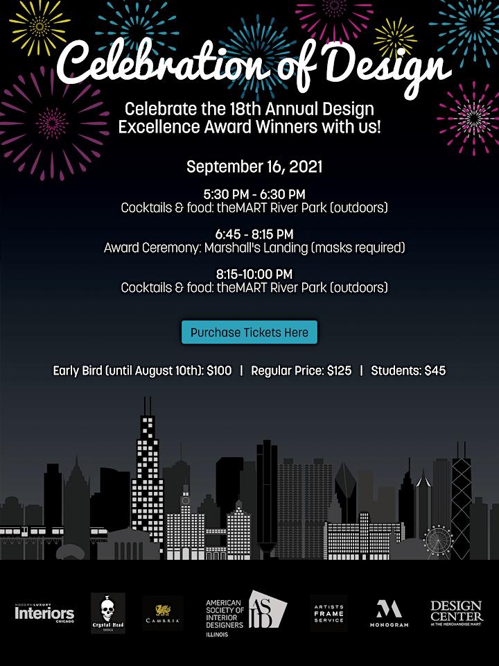 Celebration of Design: Design Excellence Awards image