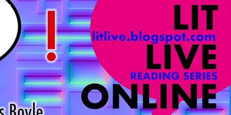Lit Live Online Reading: October tickets
